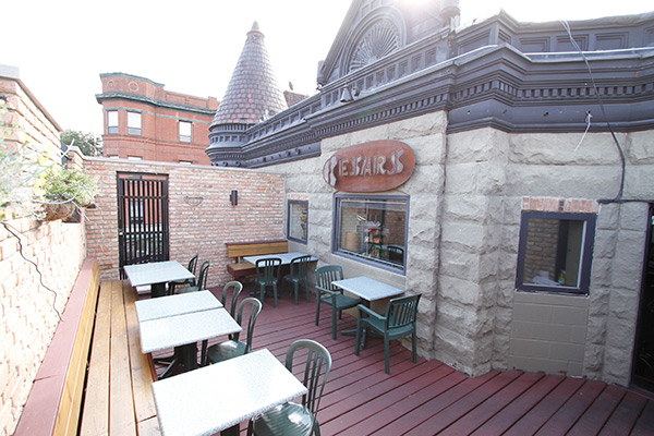 Cesar's Broadway Location Patio