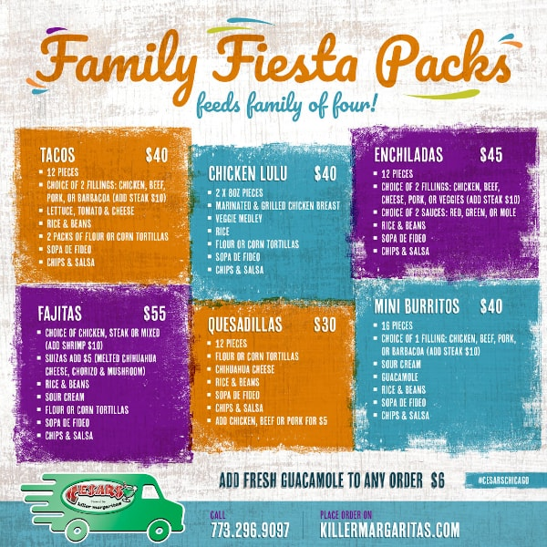 CESAR'S TO-GO FAMILY PACKS AFFORDABLY FEEDS A FAMILY OF 4