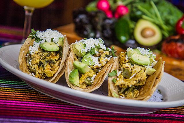 Cesars Brunch Menu breakfast tacos