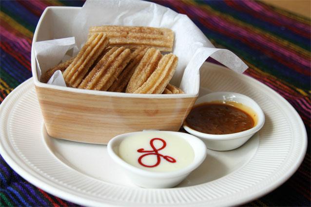 Cesars Mexican Desserts Menu