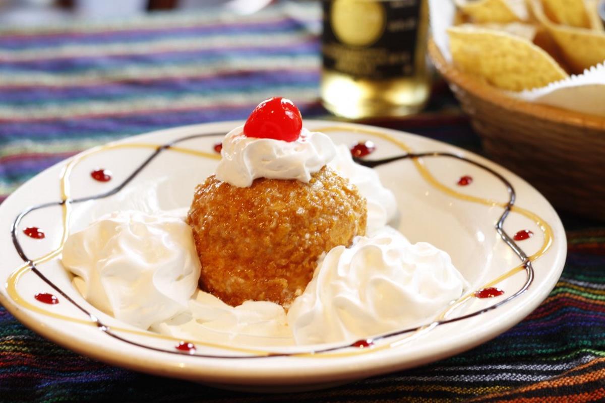 Cesars Dessert Menu FRIED ICE CREAM