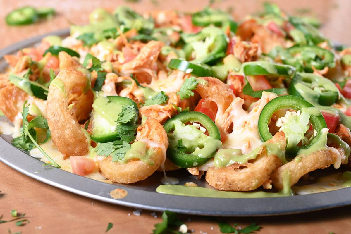 Cesars Appetizers Menu nacho fries